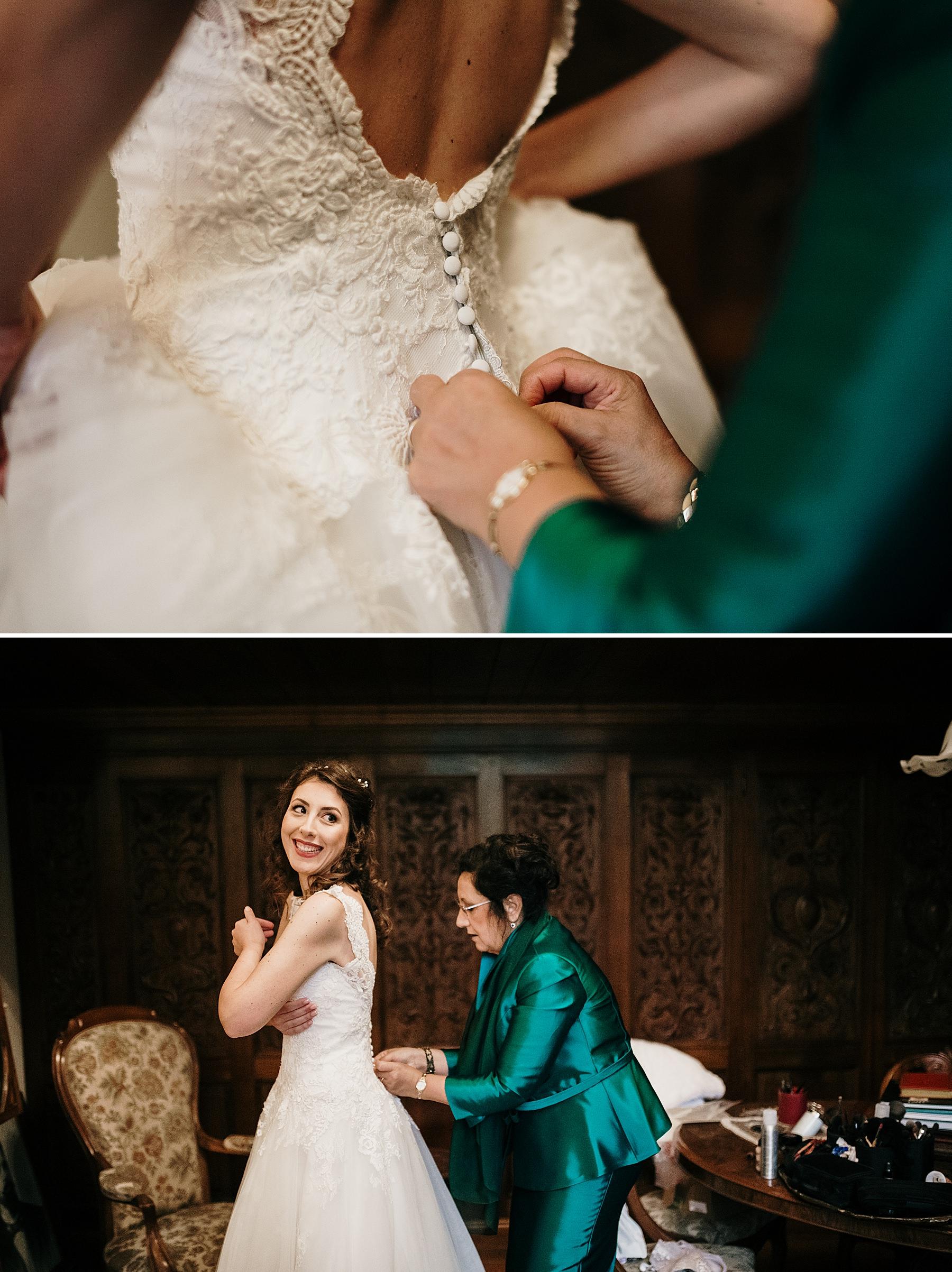 Matrimonio a Dicembre getting ready