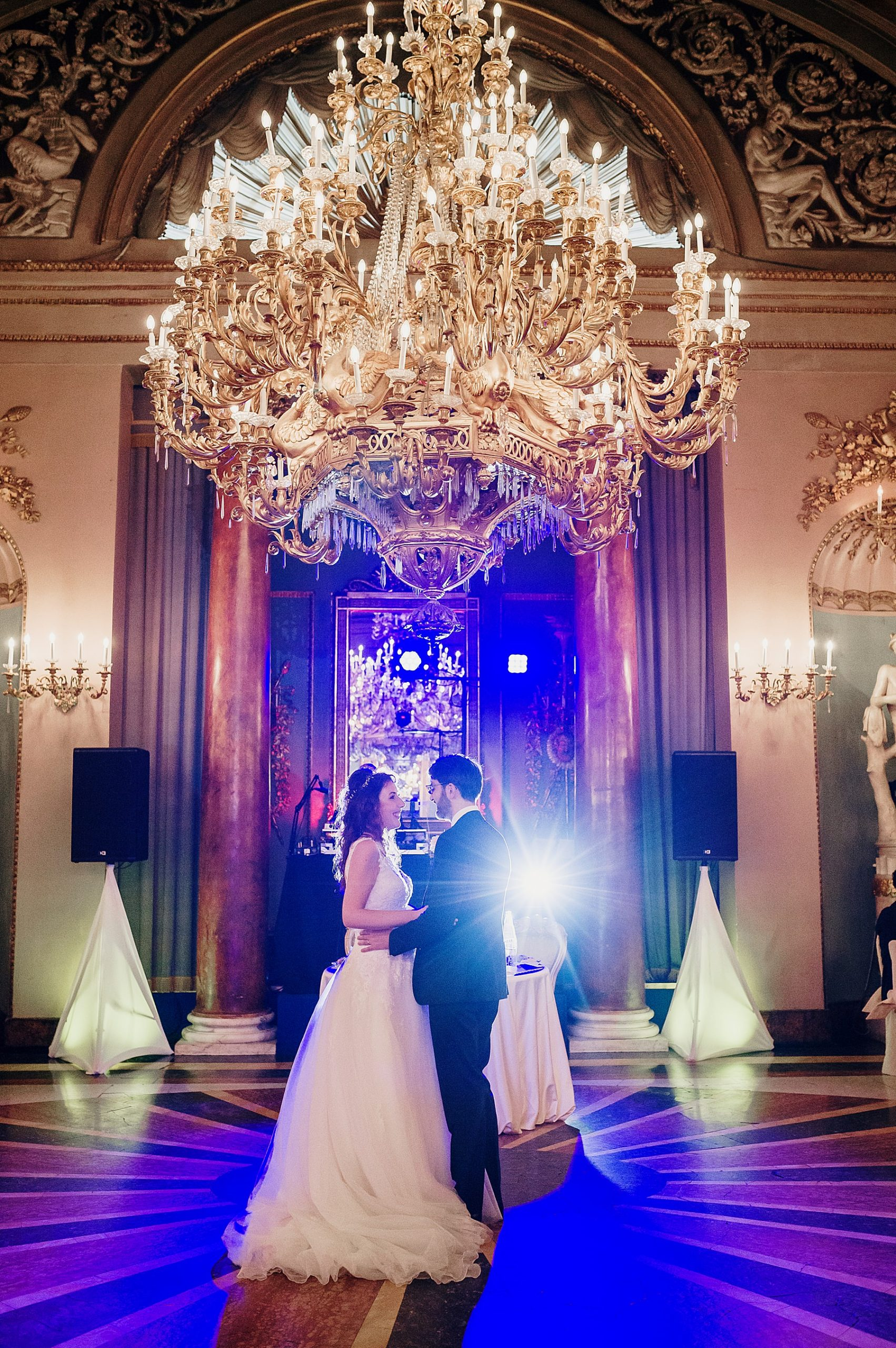 Primo ballo sposi a Palazzo Borghese Firenze