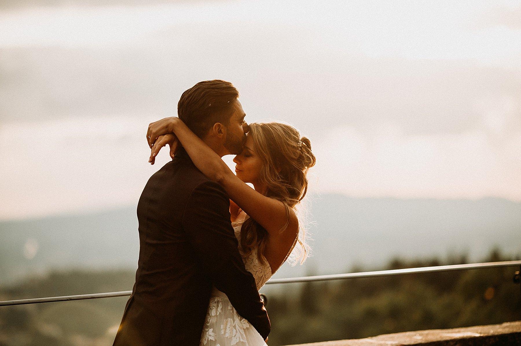 Matrimonio a Villa di Montefiano sposo sposa