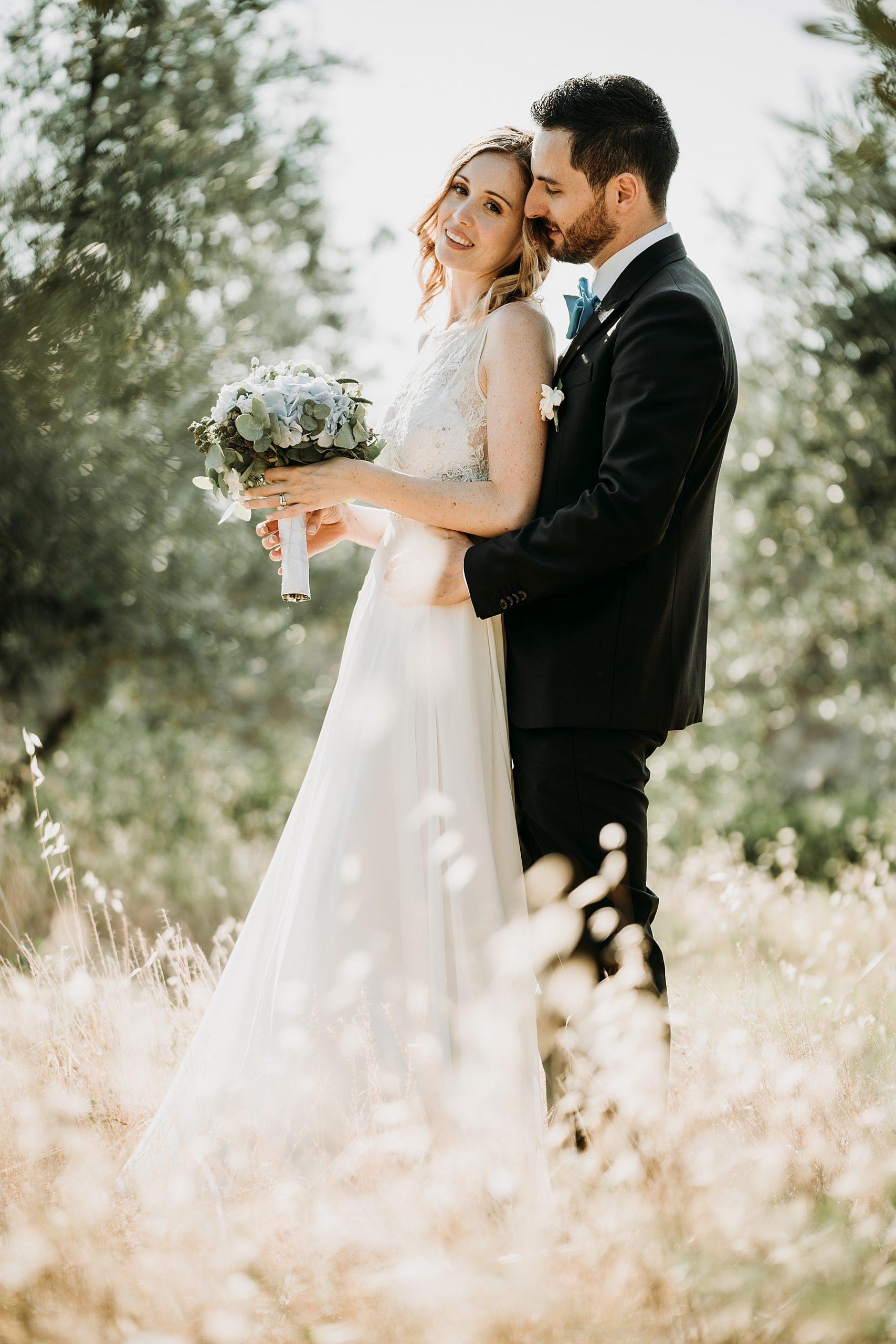 Matrimonio nel Chianti Impruneta Firenze foto sposo e sposa