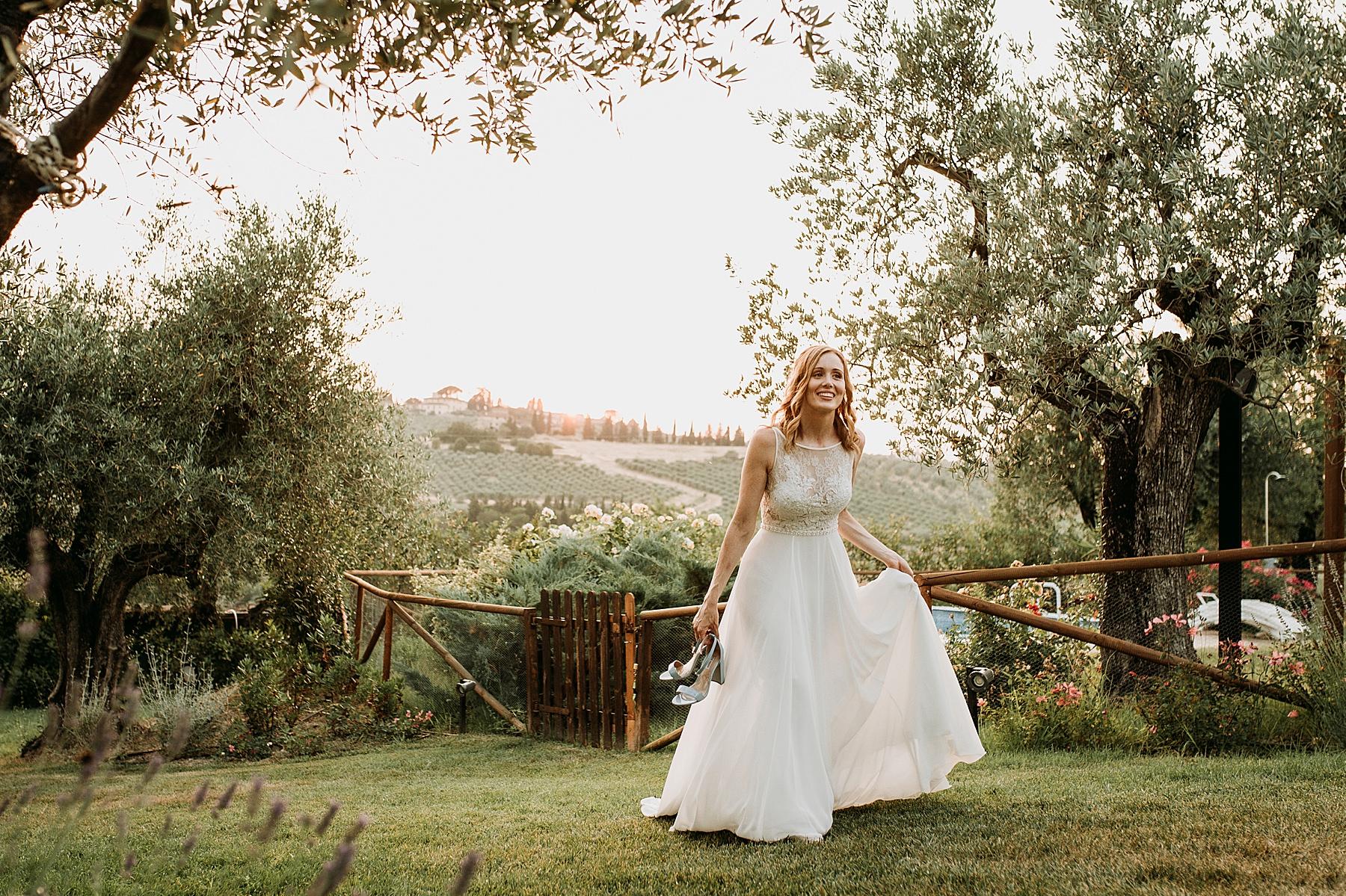 Matrimonio nel Chianti Impruneta Firenze Agriturismo I Viticci sposa
