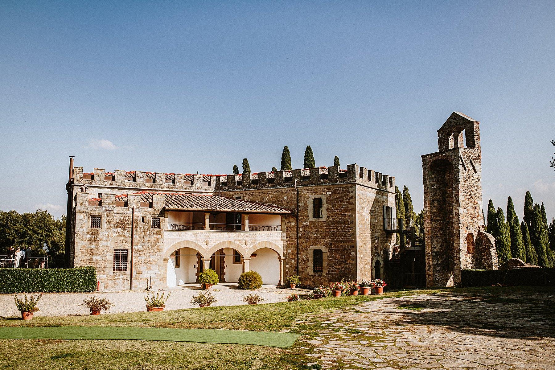 matrimonio al Castello di Villanova Barberino del Mugello