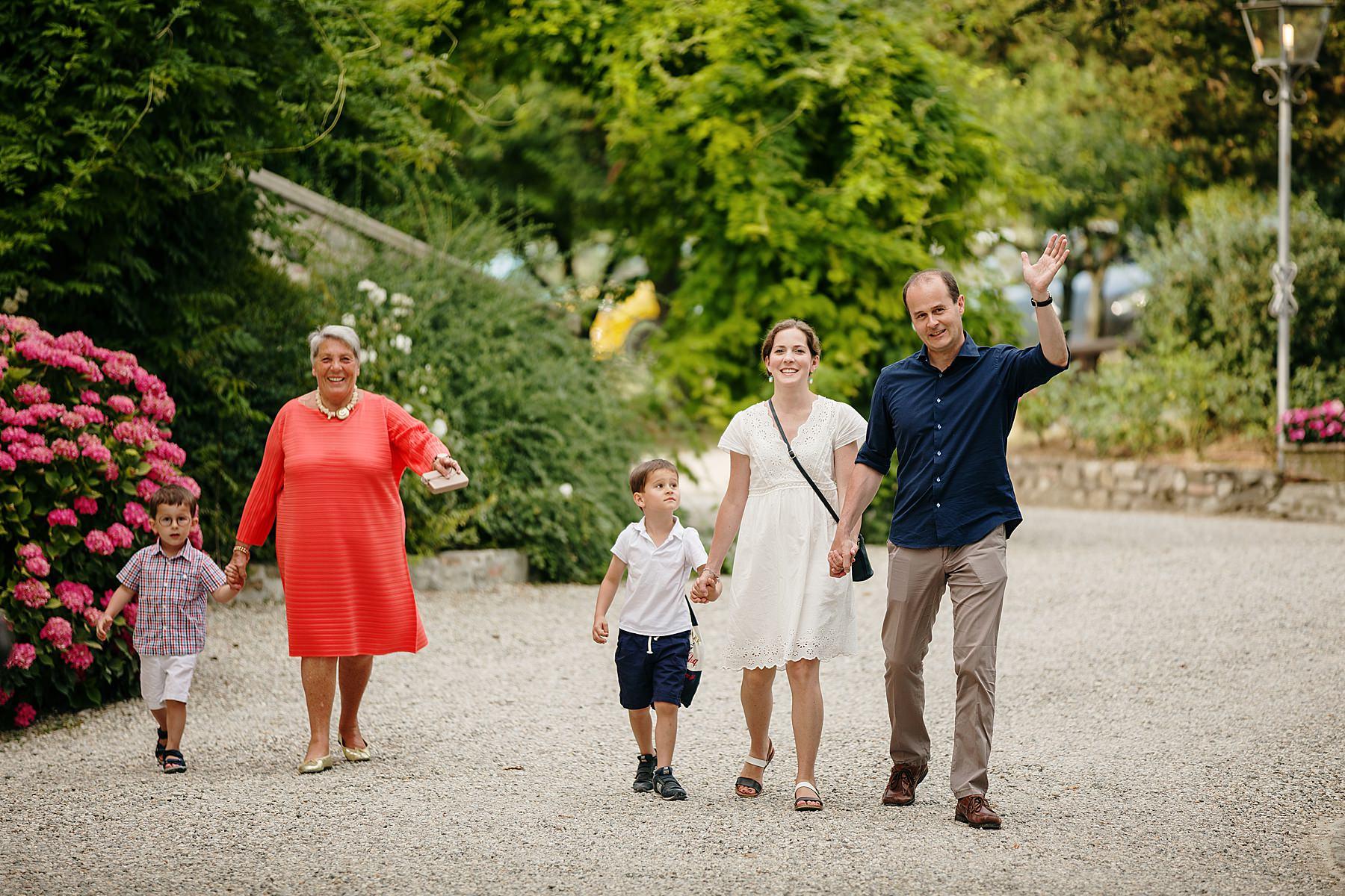 Servizio fotografico di famiglia a Scarperia