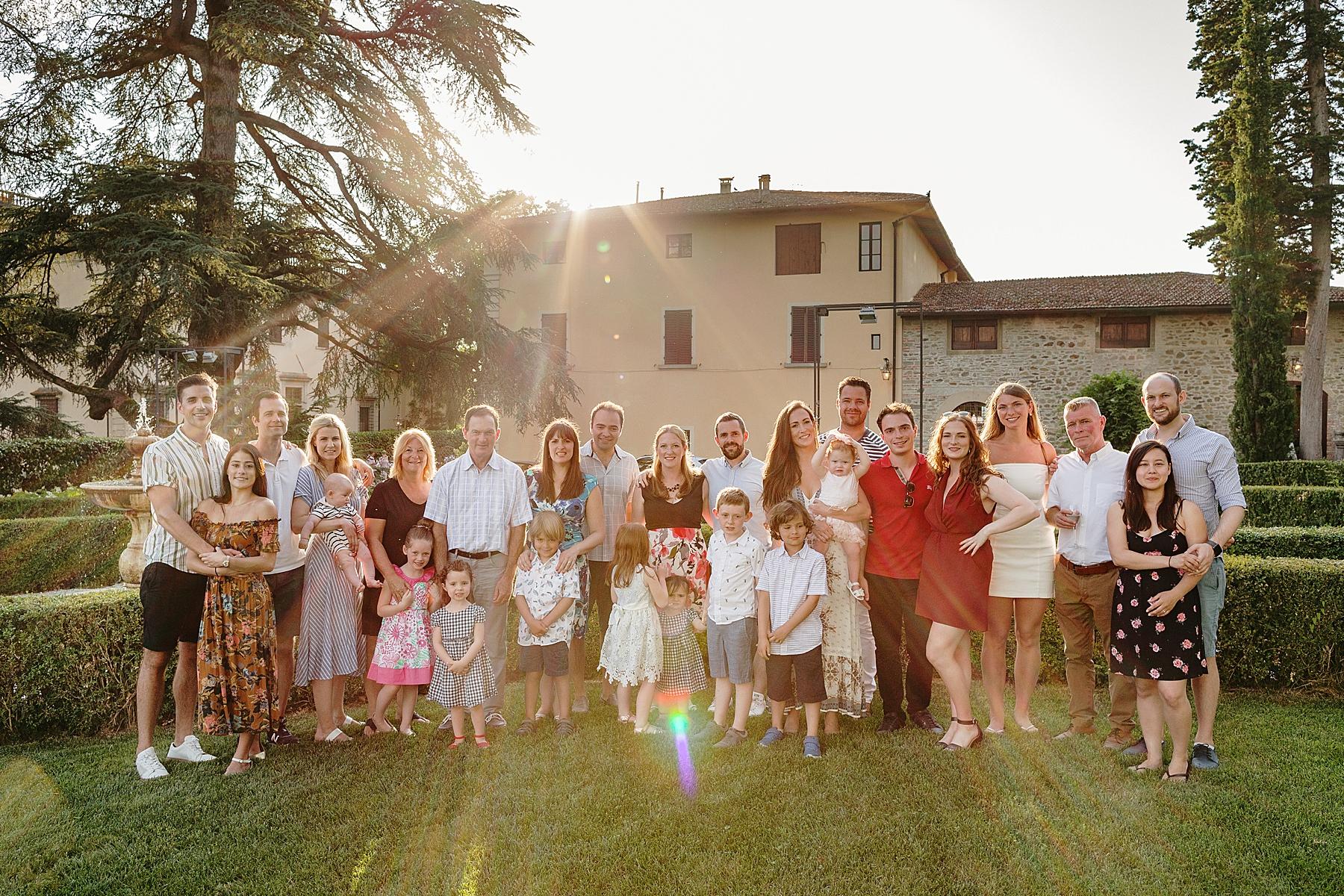 Servizio fotografico di famiglia a Scarperia Fattoria Il Palagio