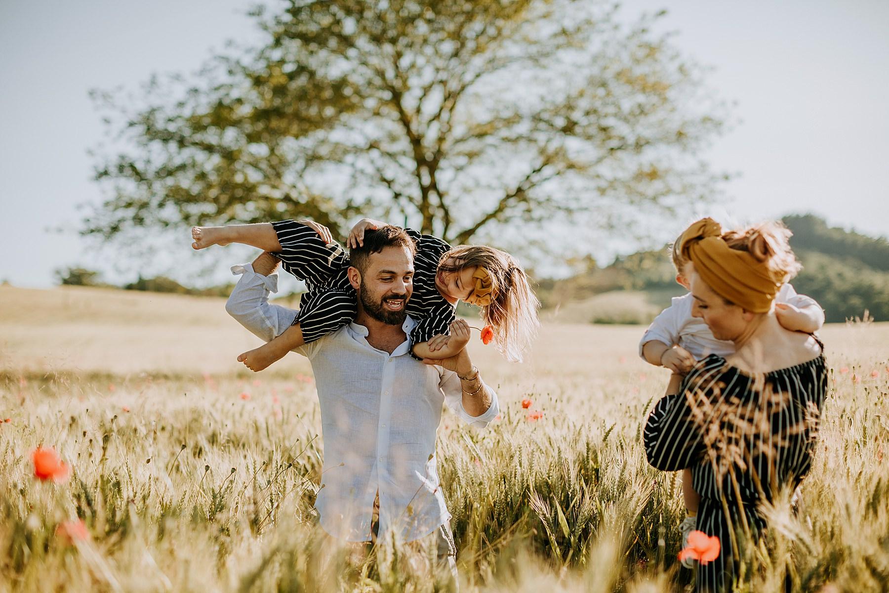 servizio fotografico di famiglia in mugello