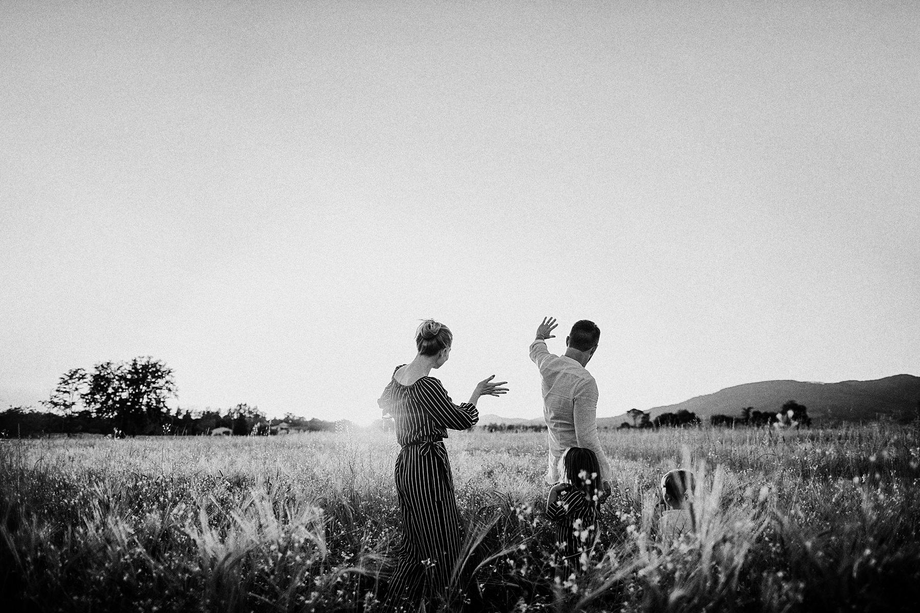 Servizio fotografico di famiglia in Toscana