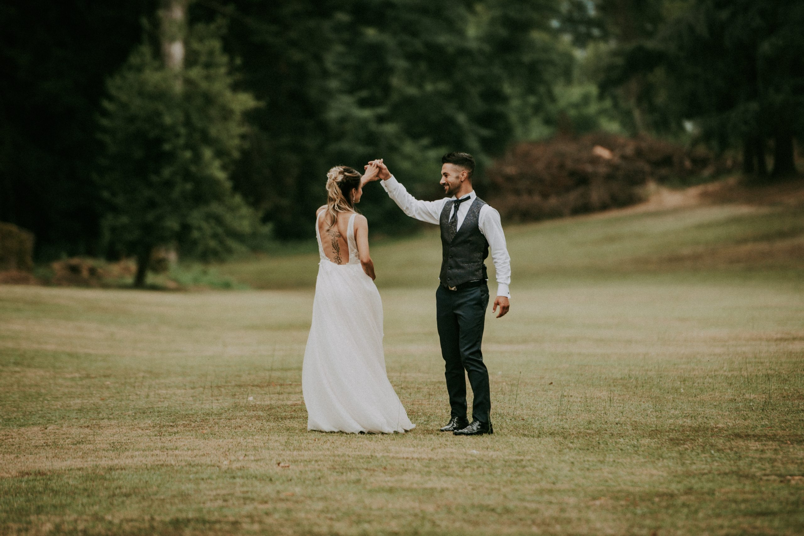 shooting sposi che ballano a Villa di Corte Mugello