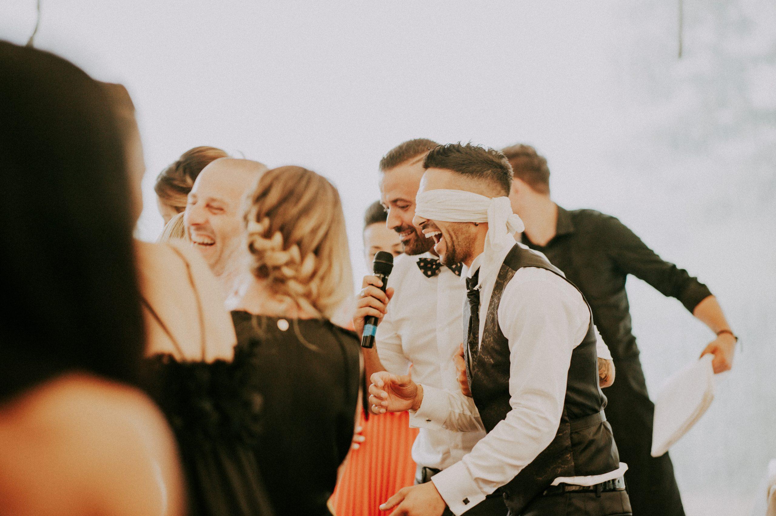 Giochi sposi al matrimonio
