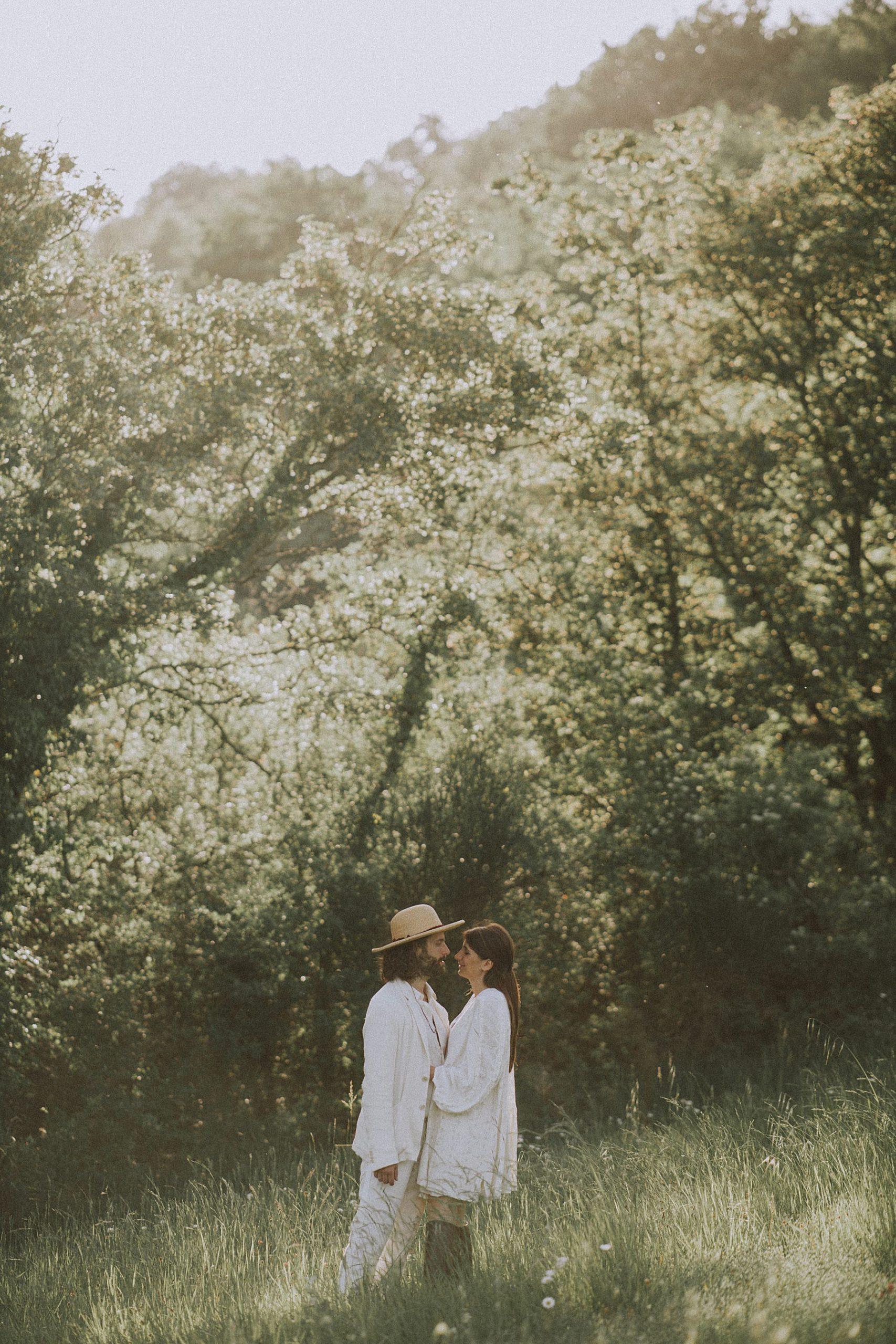foto pre-wedding nel Mugello